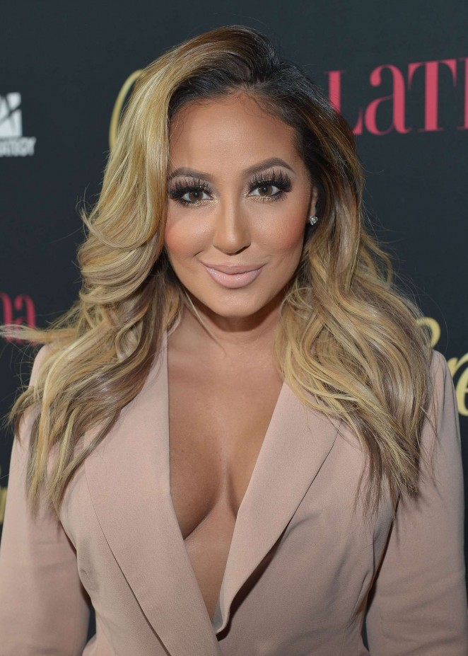 "Adrienne Bailon - Latina Magazine's ""Hollywood Hot List"" Party in West Hollywood"