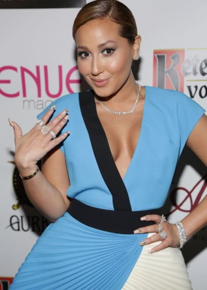 Adrienne Bailon: Venue Magazine Cover Party -05