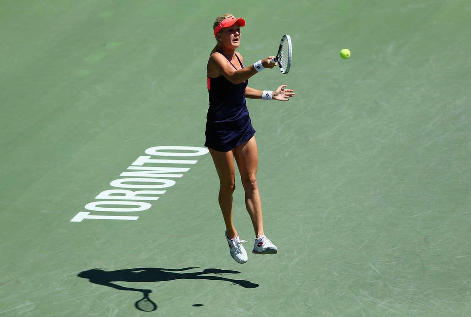 Agnieszka Radwanska - Rogers Cup 2013 Toronto -06   GotCeleb