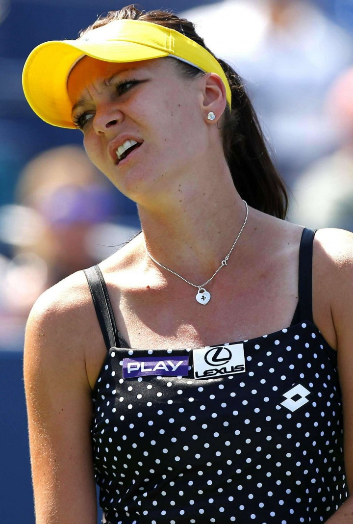 Agnieszka Radwanska U.S. Open 2014 tournament in New York