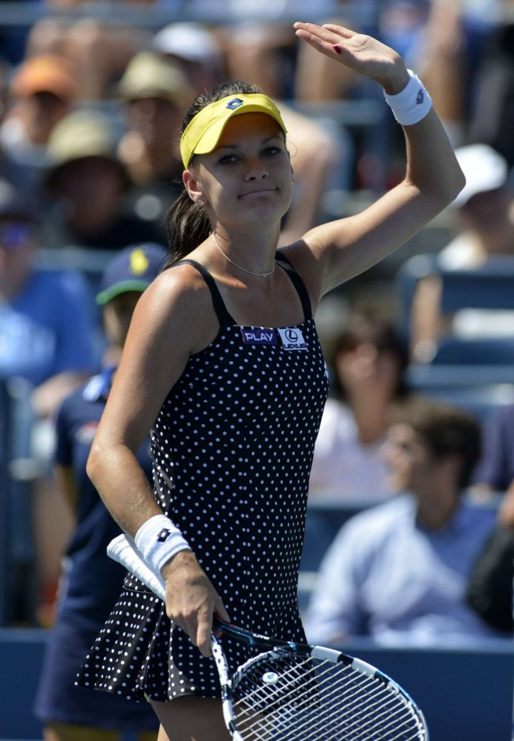 Agnieszka Radwanska - US Open 2014 Tennis Tournament in New York