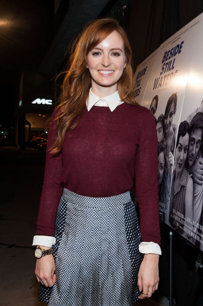 """Ahna O'Reilly - """"Beside Still Waters"""" Premiere in Beverly Hills"""