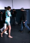 Aida Yespica on the set of UnderSense -10