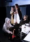 Aida Yespica on the set of UnderSense -21