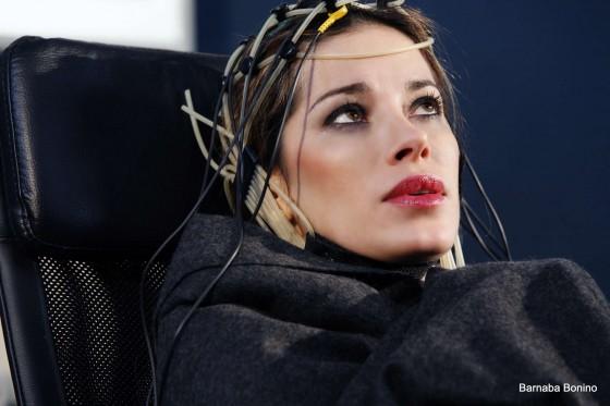 Aida Yespica on the set of UnderSense -30