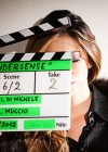 Aida Yespica on the set of UnderSense -32