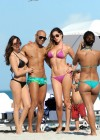 Aida Yespica - Hot in a Pink Bikini in Miami-20