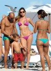 Aida Yespica - Hot in a Pink Bikini in Miami-23