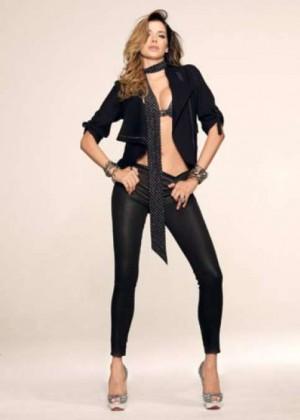 Aida Yespica: Sharp Magazine -03