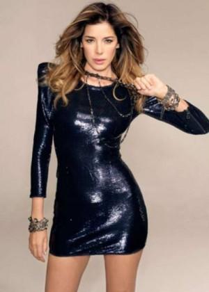 Aida Yespica: Sharp Magazine -07