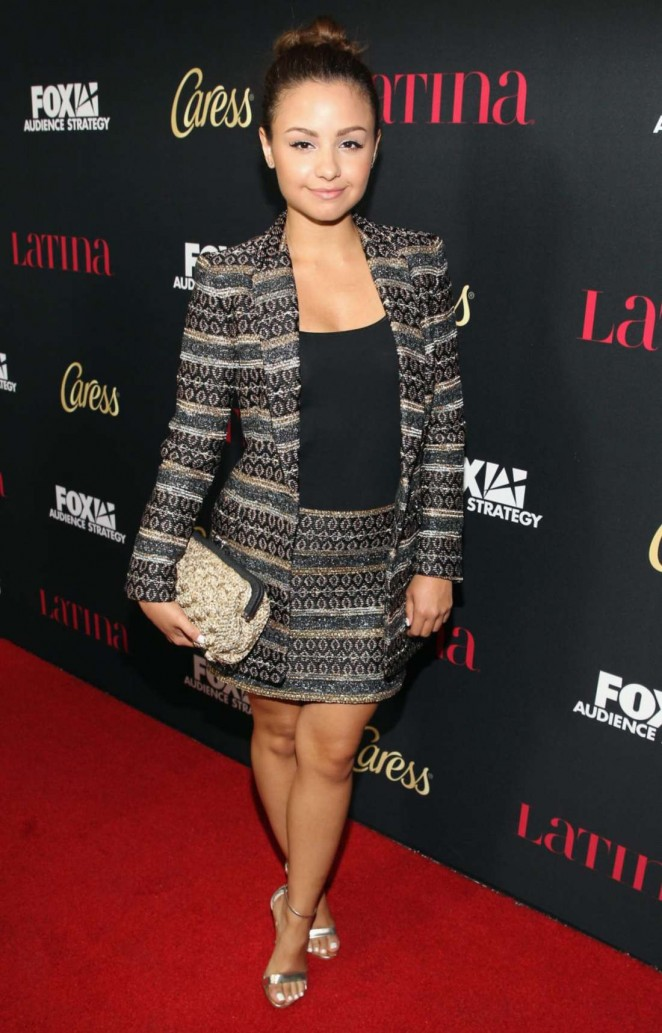 "Aimee Carrero - Latina Magazine's ""Hollywood Hot List"" Party in West Hollywood"