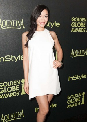 Aimee Garcia - HFPA & InStyle Celebrate 2015 Golden Globe Award Season in West Hollywood