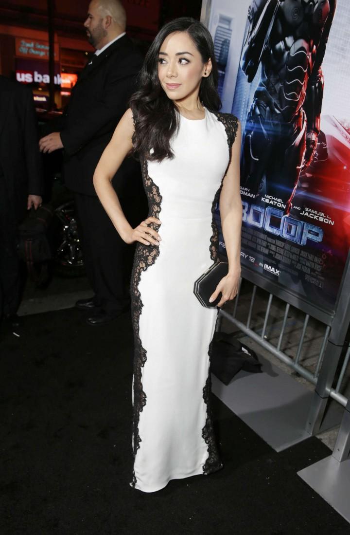 Aimee Garcia: Robocop Premiere -01