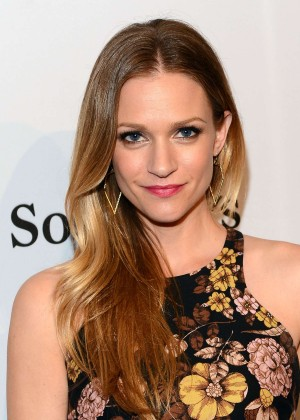 AJ Cook: Pieces Of Heaven Charity Art Auction -01