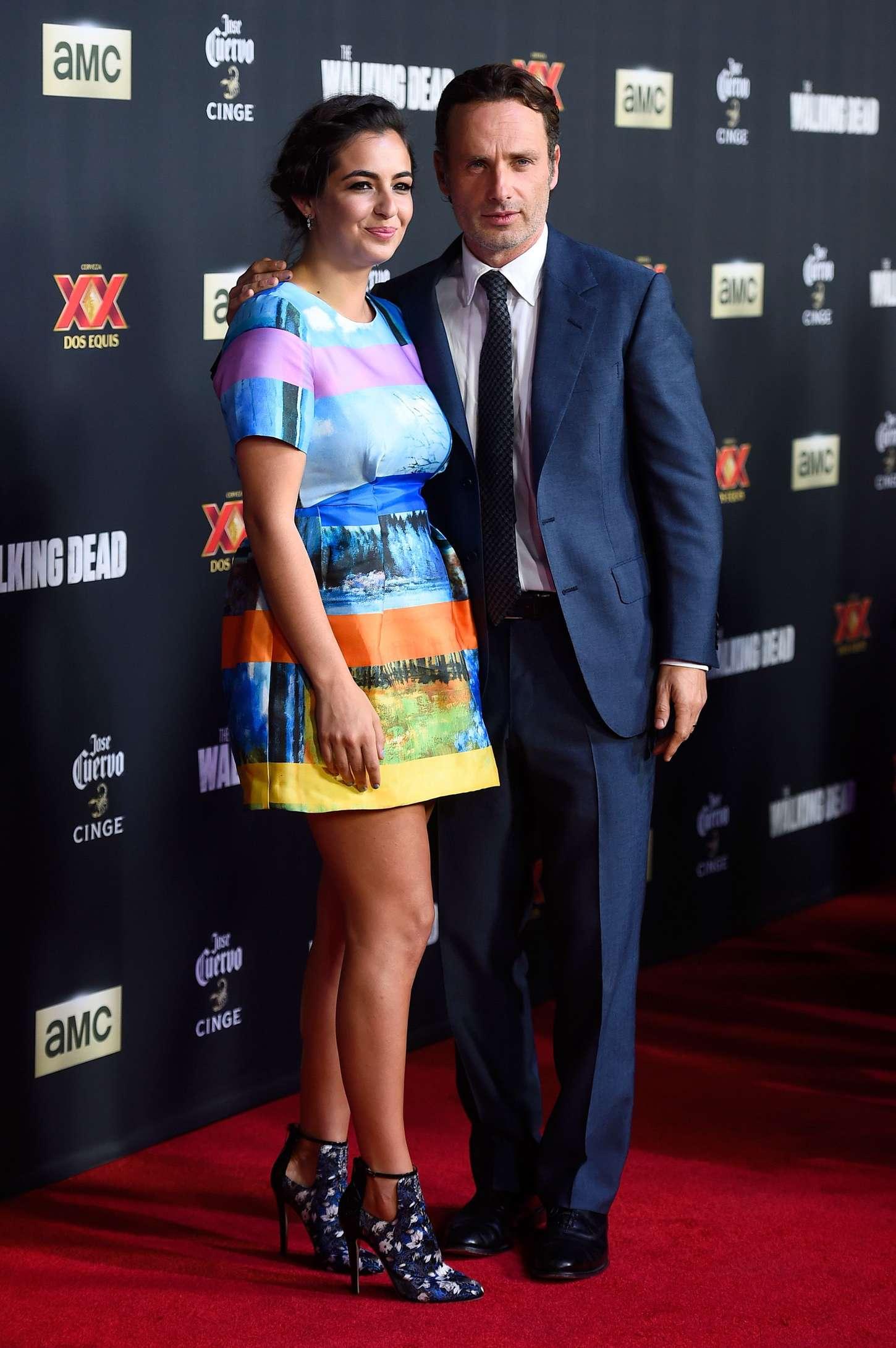 Alanna Masterson 2014 : Alanna Masterson: The Walking Dead Season 5 Premiere -03