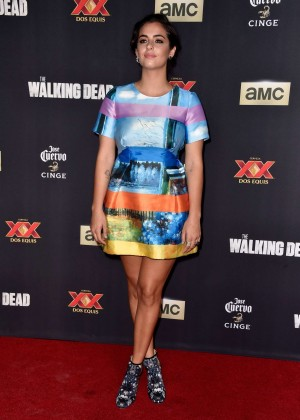 "Alanna Masterson - ""The Walking Dead"" Season Five Premiere in Universal City"