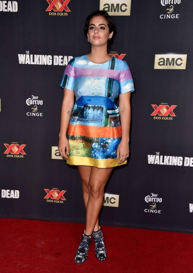 """Alanna Masterson - """"The Walking Dead"""" Season Five Premiere in Universal City"""