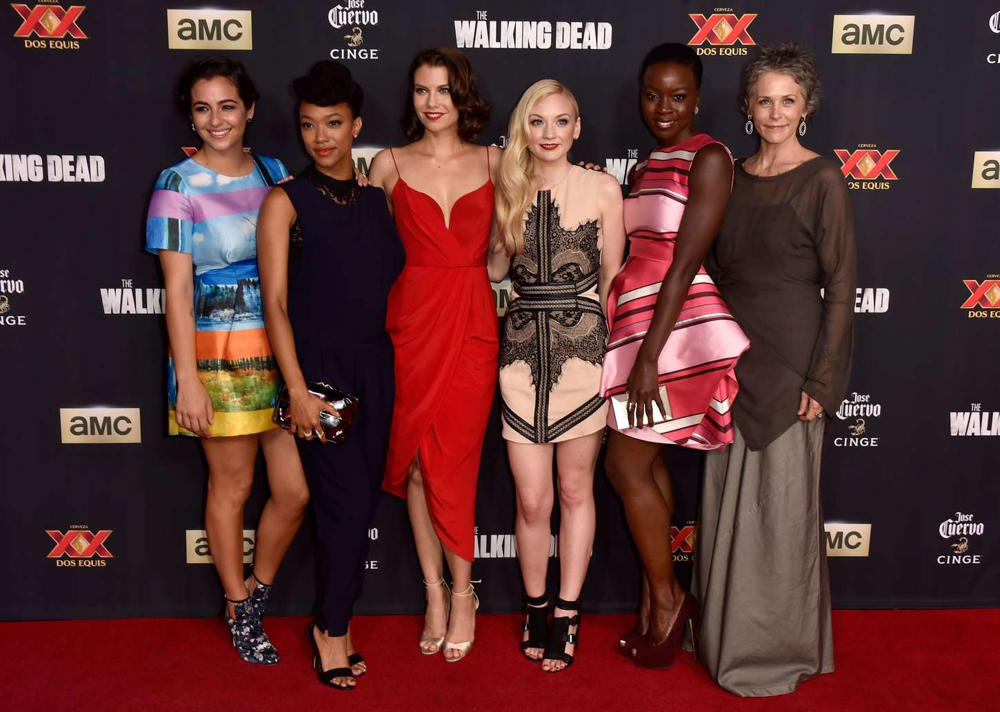 Alanna Masterson 2014 : Alanna Masterson: The Walking Dead Season 5 Premiere -05