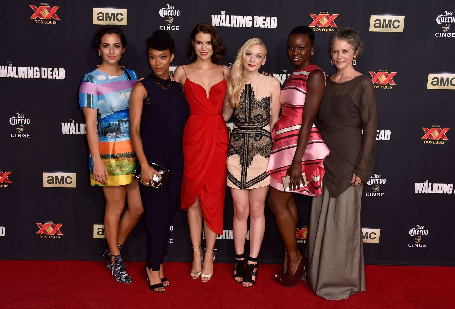 Alanna Masterson 2014 : Alanna Masterson: The Walking Dead Season 5 Premiere -09