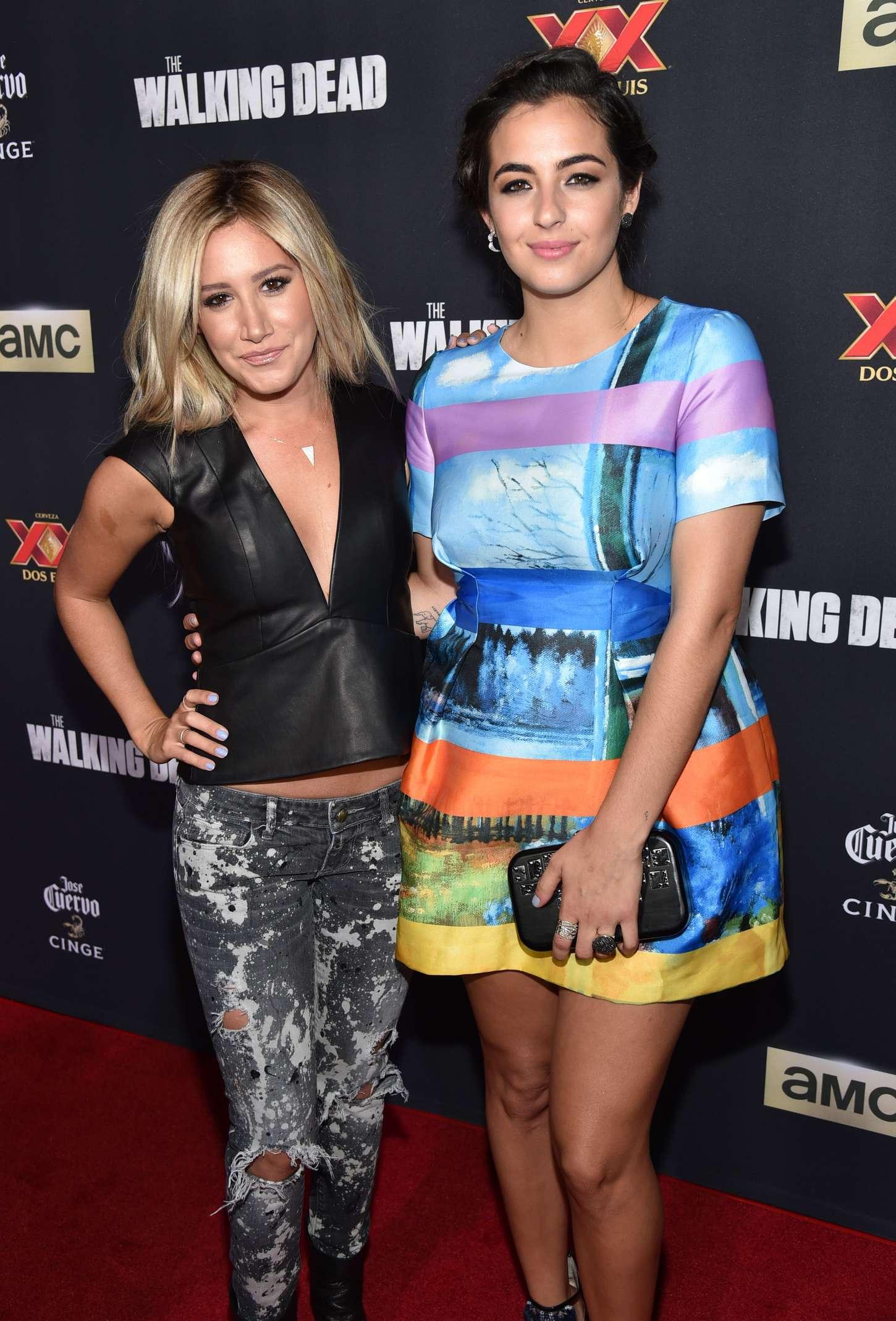 Alanna Masterson 2014 : Alanna Masterson: The Walking Dead Season 5 Premiere -10