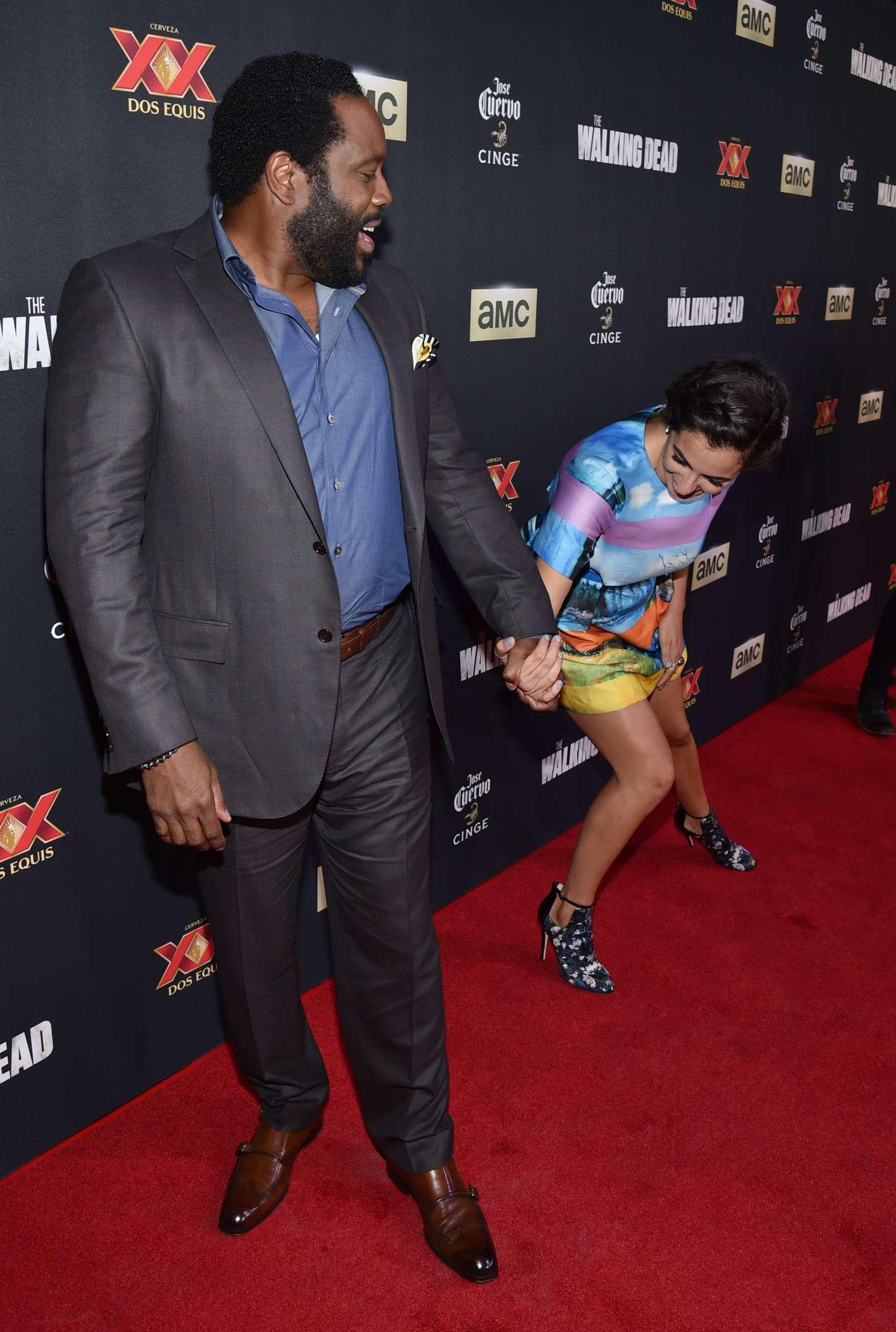 Alanna Masterson 2014 : Alanna Masterson: The Walking Dead Season 5 Premiere -12