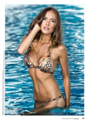 Alena Gerber - Maxim Switzerland Magazine (Nov/Dec 2014/2015)