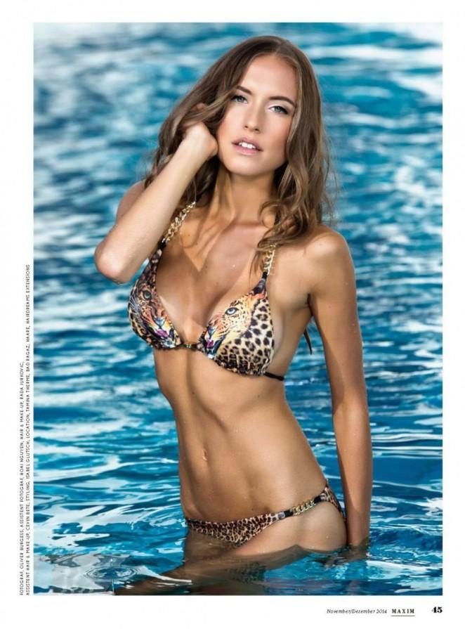 Alena Gerber - Maxim Switzerland Magazine (Nov/Dec 2014/2015)