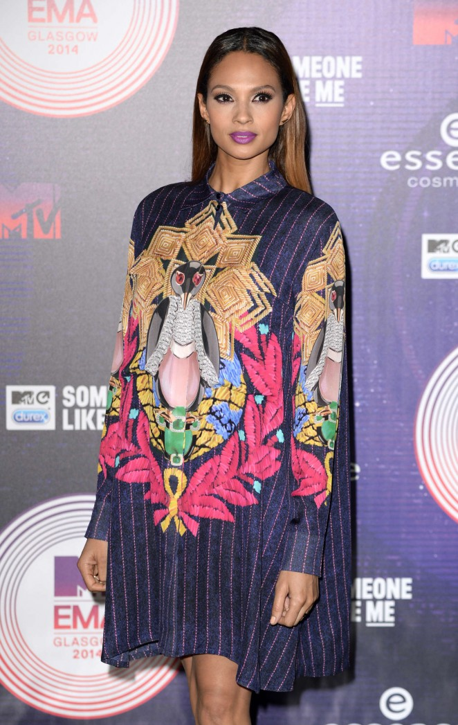 Alesha Dixon at MTV EMA's 2014 in Glasgow