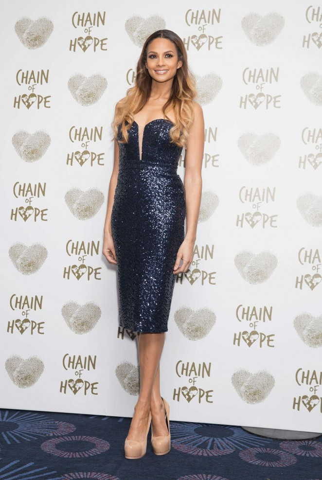 Alesha Dixon - Chain of Hope Gala Ball 2014 in London