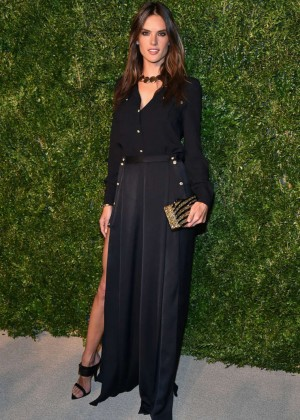 Alessandra Ambrosio - 11th annual CFDA/Vogue Fashion Fund Awards in NY