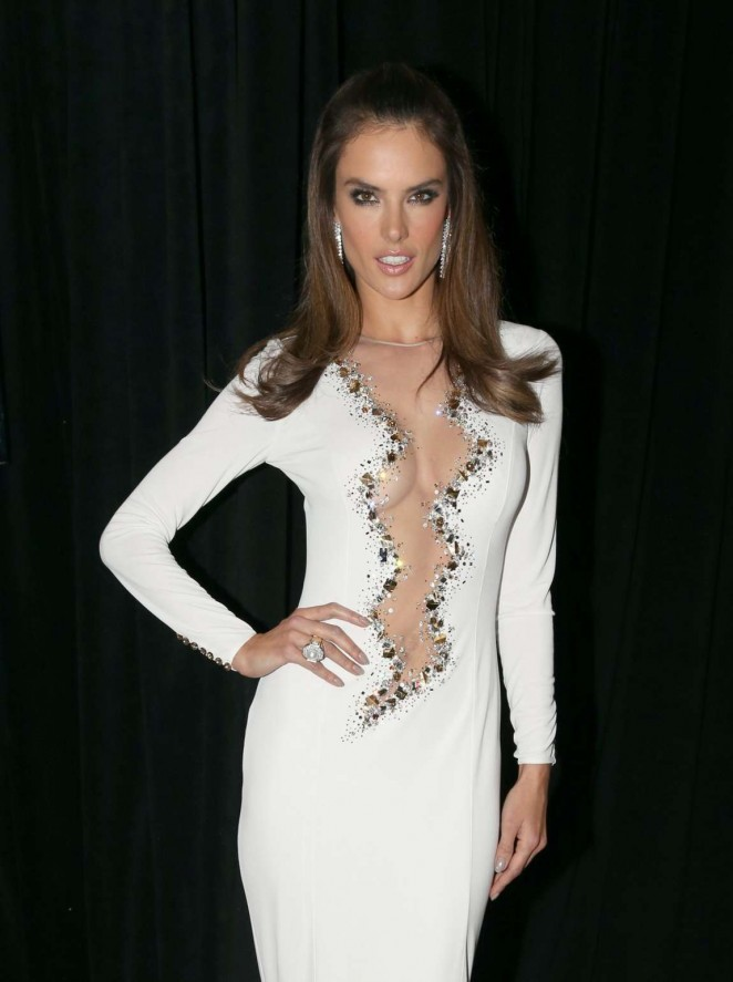 Alessandra Ambrosio – 15th Annual Latin Grammy Awards After Party in Las Vegas