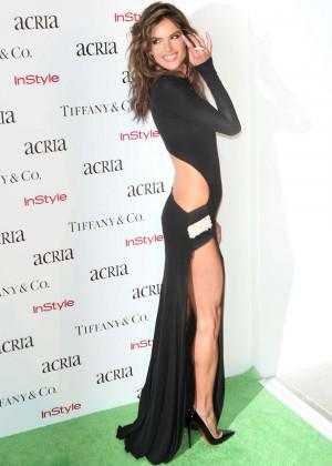 Alessandra Ambrosio - 19th Annual ACRIA Holiday Dinner in NY