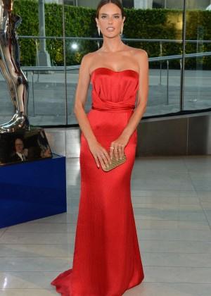 Alessandra Ambrosio - 2014 CFDA Fashion Awards in NY -02