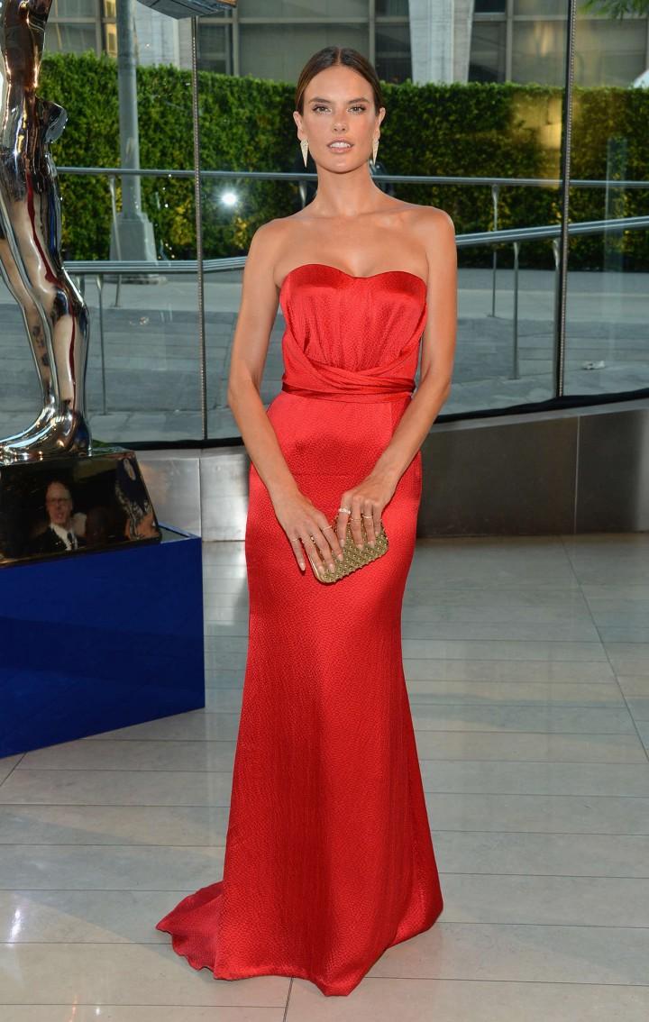 Alessandra Ambrosio – 2014 CFDA Fashion Awards in NY -02