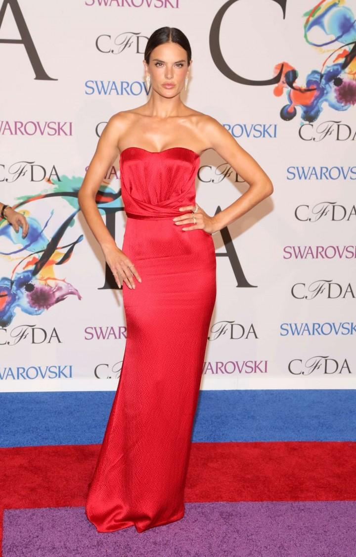 Alessandra Ambrosio – 2014 CFDA Fashion Awards in NY -03
