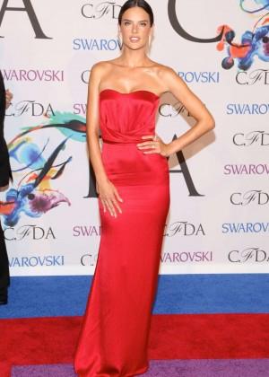Alessandra Ambrosio - 2014 CFDA Fashion Awards in NY -04