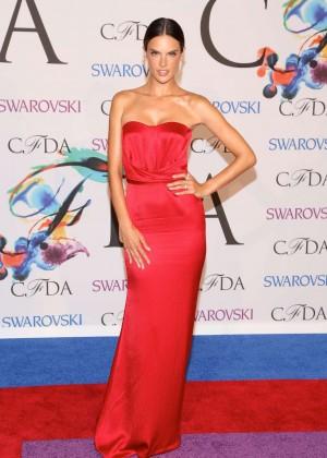Alessandra Ambrosio - 2014 CFDA Fashion Awards in NY -05