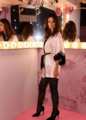 Alessandra Ambrosio - Victoria's Secret Show Backstage 2014 in London