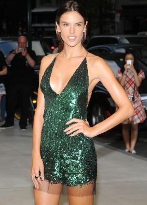 Alessandra Ambrosio - 2nd Annual Fashion Media Awards in NY