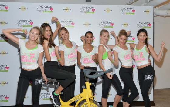 Alessandra Ambrosio – 3rd Annual Supermodel Cycle at SoulCycle in NYC