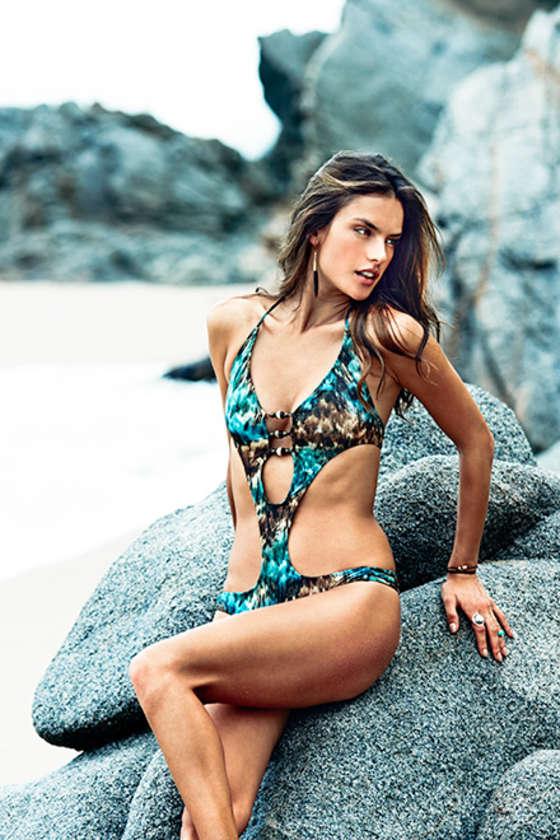 Alessandra Ambrosio 2014 : Alessandra Ambrosio: ale by Alessandra Swimwear 2015 -01