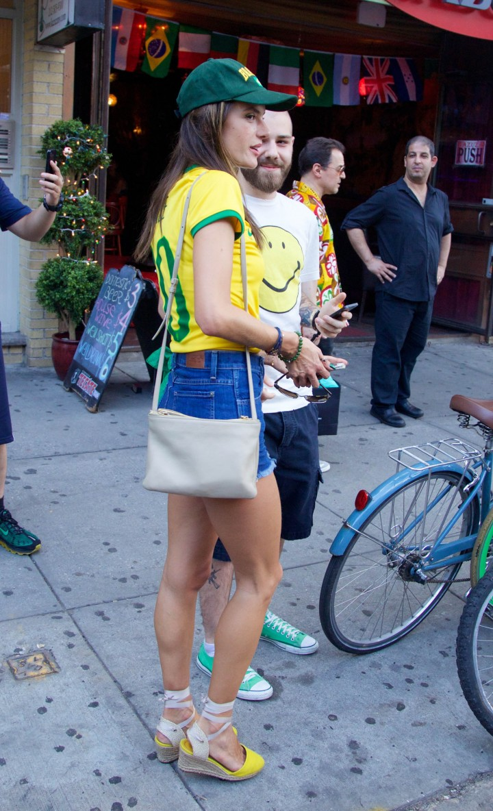 Alessandra Ambrosio at World Cup 2014 -10