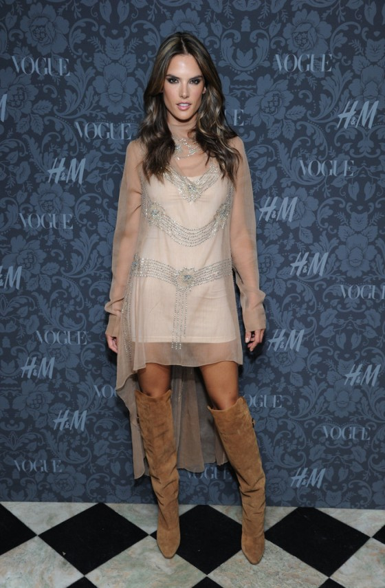 Alessandra Ambrosio: Between The Shows -07