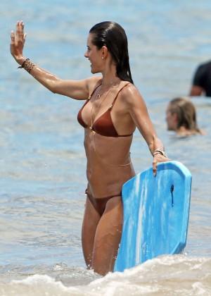 Alessandra Ambrosio Hot in Bikini -04