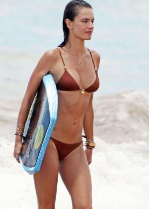 Alessandra Ambrosio Hot in Bikini -06