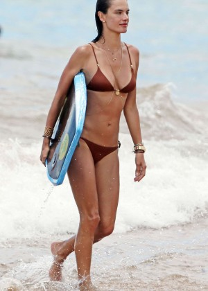 Alessandra Ambrosio Hot in Bikini -11