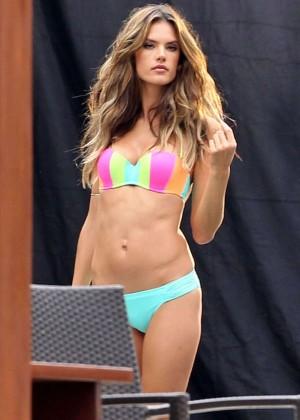 Alessandra Ambrosio: VS Bikini Photoshoot 2014 -03