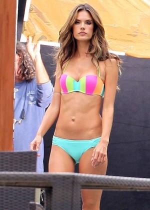 Alessandra Ambrosio: VS Bikini Photoshoot 2014 -07