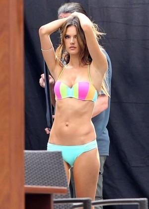 Alessandra Ambrosio: VS Bikini Photoshoot 2014 -09