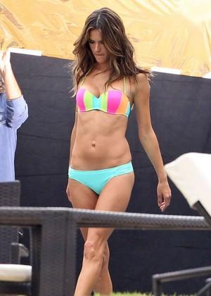 Alessandra Ambrosio: VS Bikini Photoshoot 2014 -11